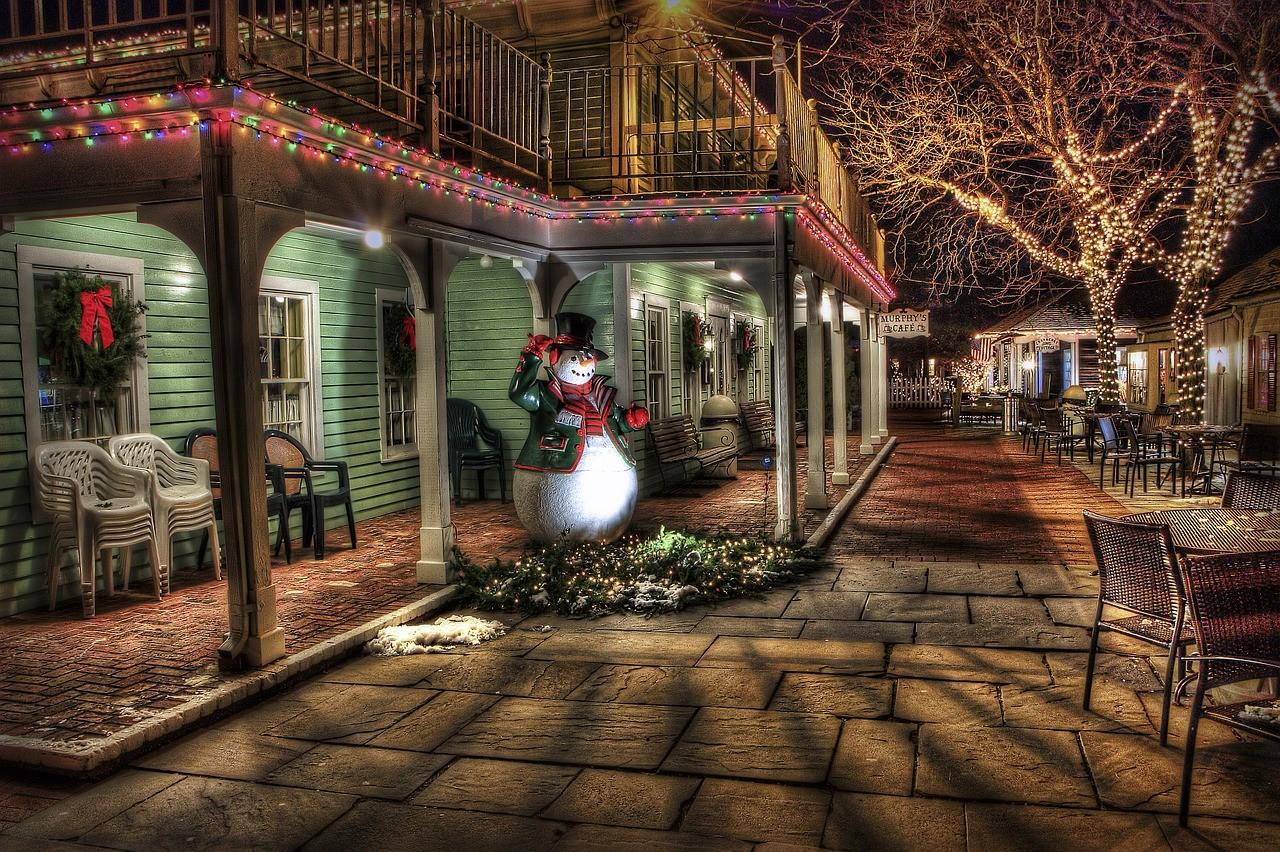 Weihnachten erhöht den Stromverbrauch - Frohes Fest!