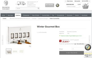 Winter Gourmet Box