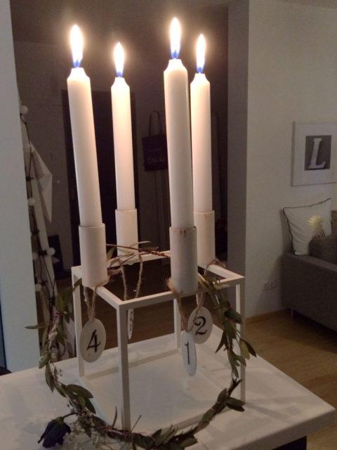 Kerzenleuchter Kubus 4 by Lassen