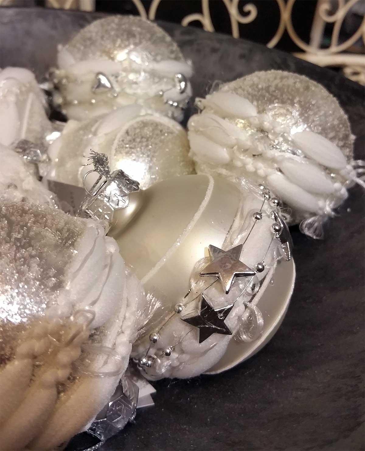 weihnachtskugeln silber christbaumkugeln jetzt kaufen. Black Bedroom Furniture Sets. Home Design Ideas