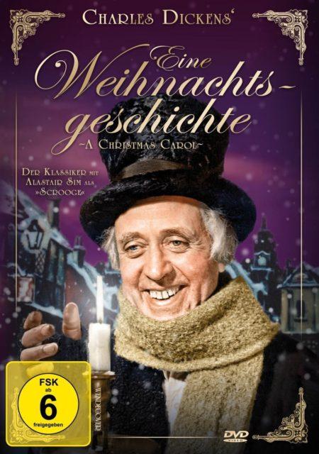 """Film """"Charles Dickens' - Eine Weihnachtsgeschichte"""" mit Alastair Sim"""