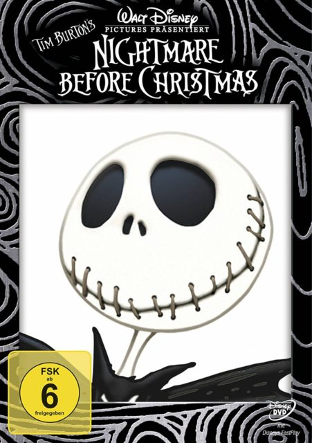"Film ""The Nightmare Before Christmas"" von Tim Burton"